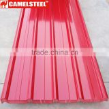 Trade Assurance 0.25mm Thickness Z60 Pre-Painted Galvanized Corrugated Steel Sheet for Roofing from China Supplier