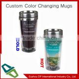 Ceramic color changing mug with custom photo