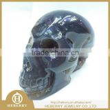 HOT ! Rare Shinning Ball Geode Crystal Carving Skull / Decorative Geode Crystal Skull for sale
