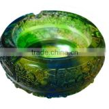 Wholesale best selling crystal antique ashtray as business gifts for home and office desktop decor
