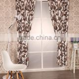 2016 New American Curtain Design Polyester Printed Curtain Panel
