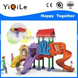 stainless steel tube slide plastic swing for kids outdoor playground animal sculpture