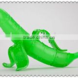 custom rude cartoon banana plastic toys/make own plastic fruit banana pvc small toys/customize funny fruit plastic toys factory