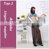 New style Polyester Transparent underdress indian sexy lingerie girls