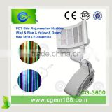 CG-3600 4 color PDT led infrared for acne treatment