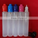 30ml 1oz opaque black or translucent unicorn bottle pen shape e liquid plastic dropper bottle with childproof cap