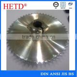 industrial steering conveyor double blank zinc plated special drive sprocket