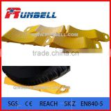 Yellow Plastic Caravan Wheel Tyre Saver