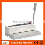 CE Certification Office Book Binding Machine Desktop Wire Binding Machine / Paper Binding Machine
