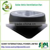 Solar energy powered brushless DC motor equipped brand new roof air conditioner ventilator