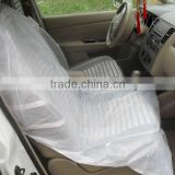Clear LDPE plastic car seat cover on sale