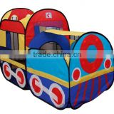 Pop up Train Toys tent for Kids Indoor train engine Play tent