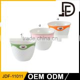 Drinkware 12pcs cup and saucer, small coffee cup and saucer set, german tea set and coffee set