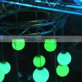 Color Changing LED Glow Ball/led solar christmas ball light/floating led pool balls YM-LB505050