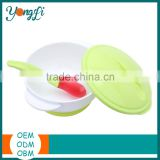 BPA Free Hot Sell Baby Suction Baby Bowl /Baby Feeding Bowl/Baby Bowl with Spoon Children Bowl