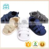 2017 Cheap Fashion Blue baby walker shoes baby boys shoes Gray Children first walker Toddler summer sandals