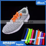 Never Tie Again Shoelaces~No-Tie Kids Disability Aid Shoelaces~Elastic Bounce Laces~Ebay/Amozn Supplier