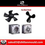 High quality plastic injection air cooler fan blade mould