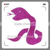 Shiny DIY Decration Colorful Snake Hot Selling Handcraft Glitter Cardstock Paper Holiday Supplies