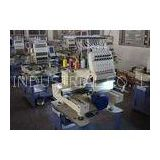 High Speed Automatic Embroidery Machine , Multi - Languages 1 Head Embroidery Machine New