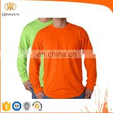 Bright Men Bulk Long Sleeve T-shirts With Pocket