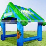 AOQI pretty house contour inflatable air tight tent for party