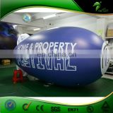 Custom Inflatable Helium Air Plane / Advertising Dispaly Vinyl Helium Airship Balloons