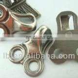metal double holes hook for shoes