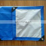 100 % agriculture tarpaulin /Raincoat heavy duty pe tarpaulin vietnam with blue color coating film