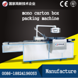 mono box packaging machine,bag in box cartoning machine
