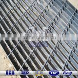 hot dipped galvanized steel grating stair tread| trench cover| walkway grating