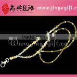 Fashion Jewelry Bling Crystal Bead Key Chain Manufacturers