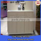 many small drawers cabinet panel wood furniture,used in hotel,department,gym,school,store