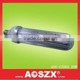 Patented Product AOSZX 3000lm Replace CFL High Bay Post Lamp SMD 3014 30W E40 E27 corn cob led bulb