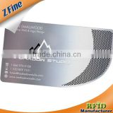 HOT!!!!engraved Stainless Steal Metal Card/cheap metal busniess card can be make with logo