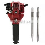 Gas Demolition Jack Hammer Gasoline Concrete Breaker JH95A Rock Drill