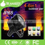 Hot Sale Small LED Lights Outdoor Light Waterproof IP65 4LEDs Colorful LED Display Battery powered Wireless DMX IR Controller