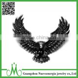 Fashion punk stainless steel jewelry hip hop pendant men best selling model eagle pendant necklace                                                                                                         Supplier's Choice