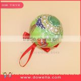 2016 wholesale Christmas Ball ,Plastic festival Christmas Ball ,Christmas tree decoration ball Disney Approved Factory