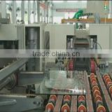 Insulating Glass Production Line , Straight Line Glass Double Edging Machine Production Line