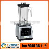 2015 new large power battery operated mini hand juicer and blender with plastic blades