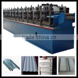 Hot sale high speed automatic shutter door puching roll forming machine