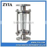 LZB-FA100-40 high temperature flange glass tube rotameter Water Flow meter , Gas Flow meter                                                                         Quality Choice