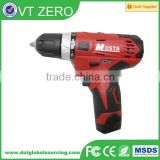 Hot Sale 12V Cordless Rechargeable Handheld Compact Driver Drill Electric Hand Drilling Machine