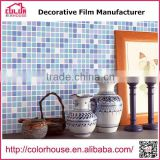 Wholesale Self adhesive PVC modern design wallpaper mosaic type 3d wallpaper
