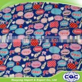 custom digital printing rayon crepe fabric/rayon bandage dress fabric