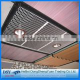 New 2016 decorative aluminum expanded metal mesh panels, small hole expanded metal mesh made in China