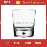 Custom blue bubble wholesale glass water cheap tumblers                                                                         Quality Choice
