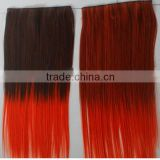 New product of china brazilian hair red extensions virgin brazilian hair weave