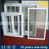 Aluminum framed philippines used sliding glass reception window